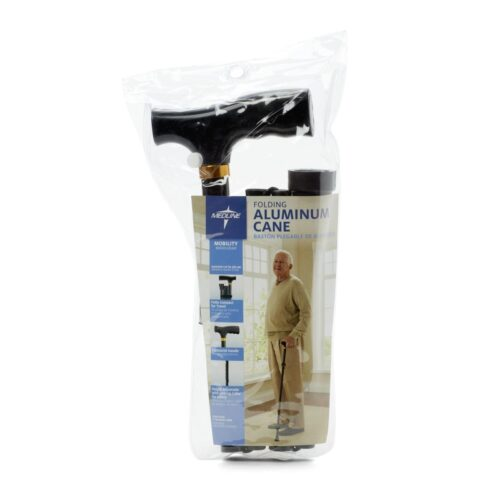 foldable, portable cane