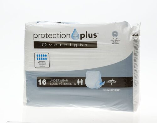 disposable underwear with odor protection