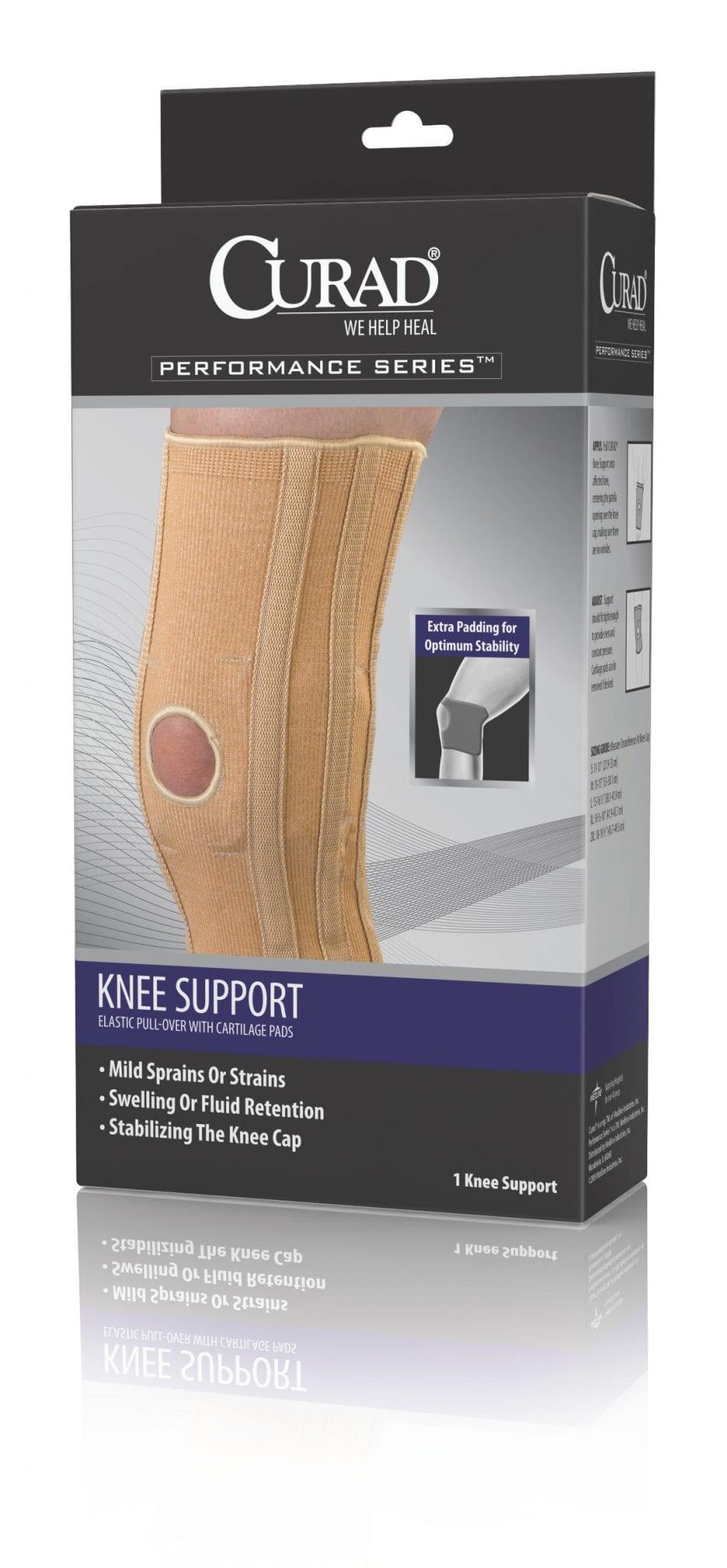 mild knee sprains and strains