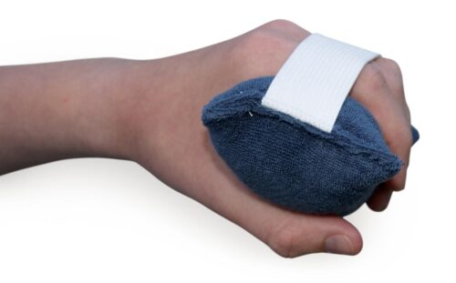 exerciser to increase grip strength or for stroke patients to reduce contractors