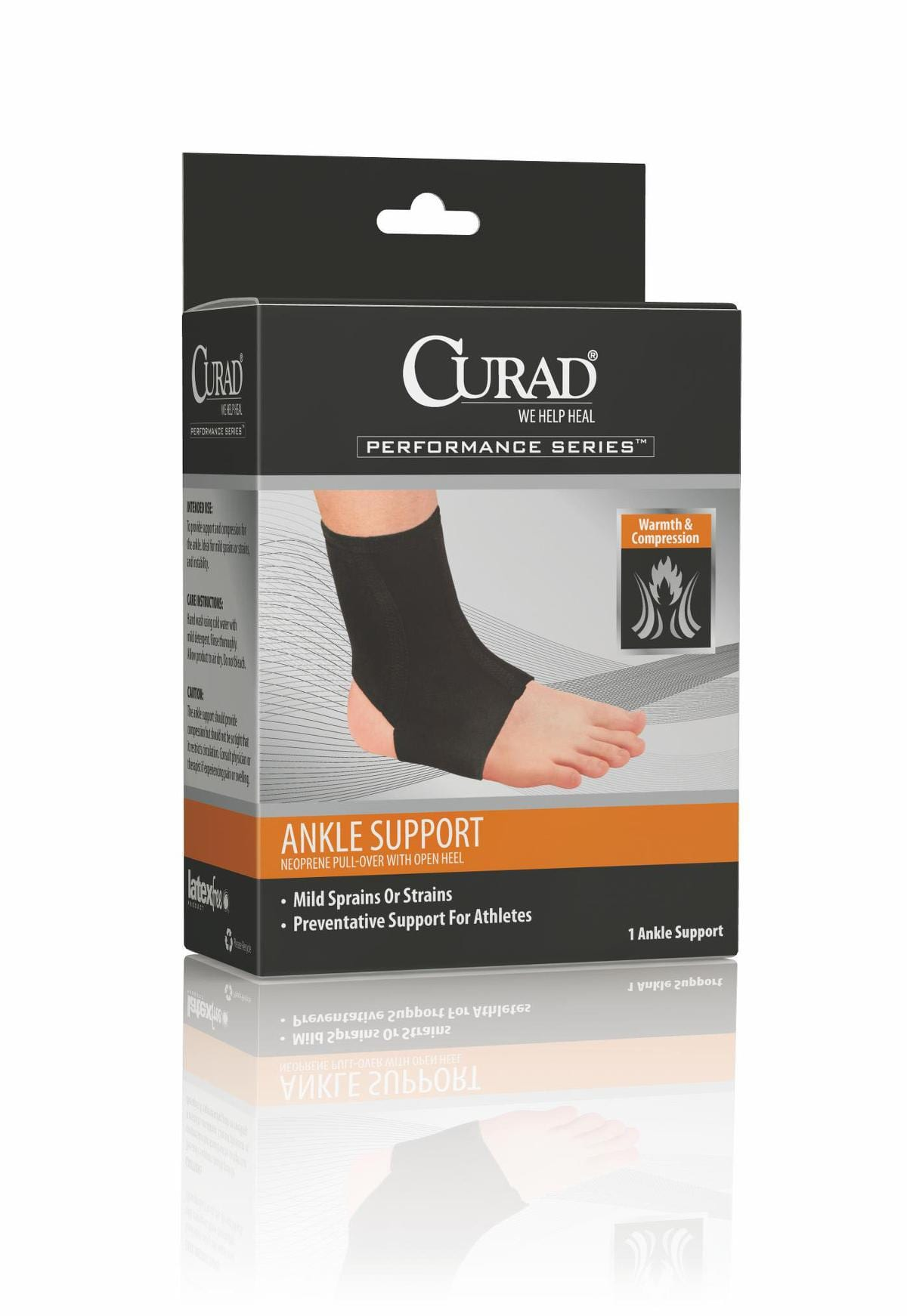great for ankle sprains and strains