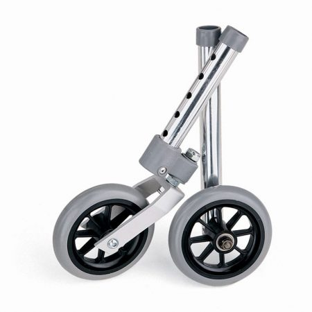 five inch walker wheel set of two