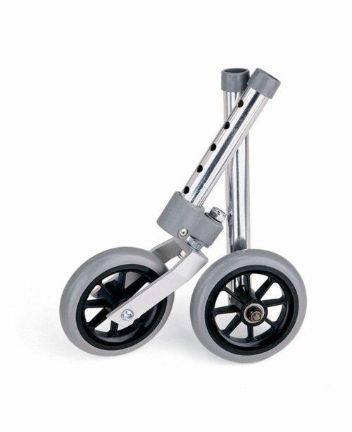 five inch walker wheel set of two