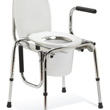 adjustable bedside commode