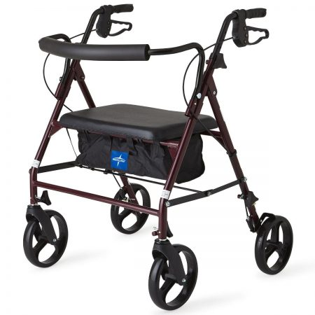Economical heavy duty rolling walker for obese people
