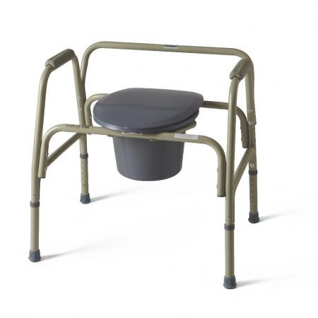 bedside commode with heavy duty frame for obsessed people