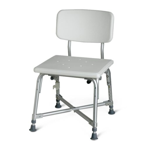 high capacity bath chair without arm rests