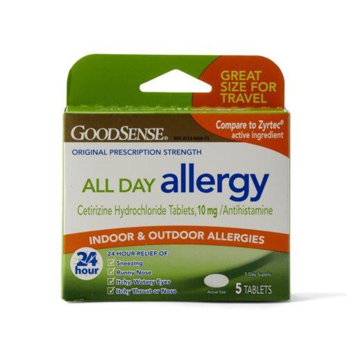 stop sneezing allergy pills