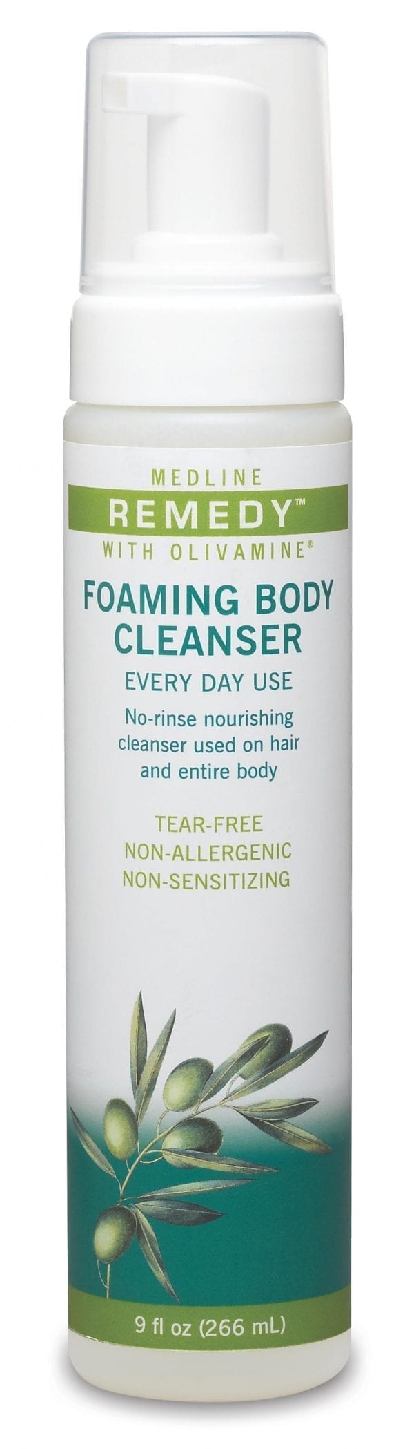 foaming body wash, easy to apply and reduce waste