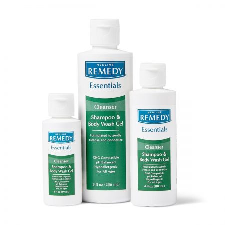 non irritating shampoo and body wash gel