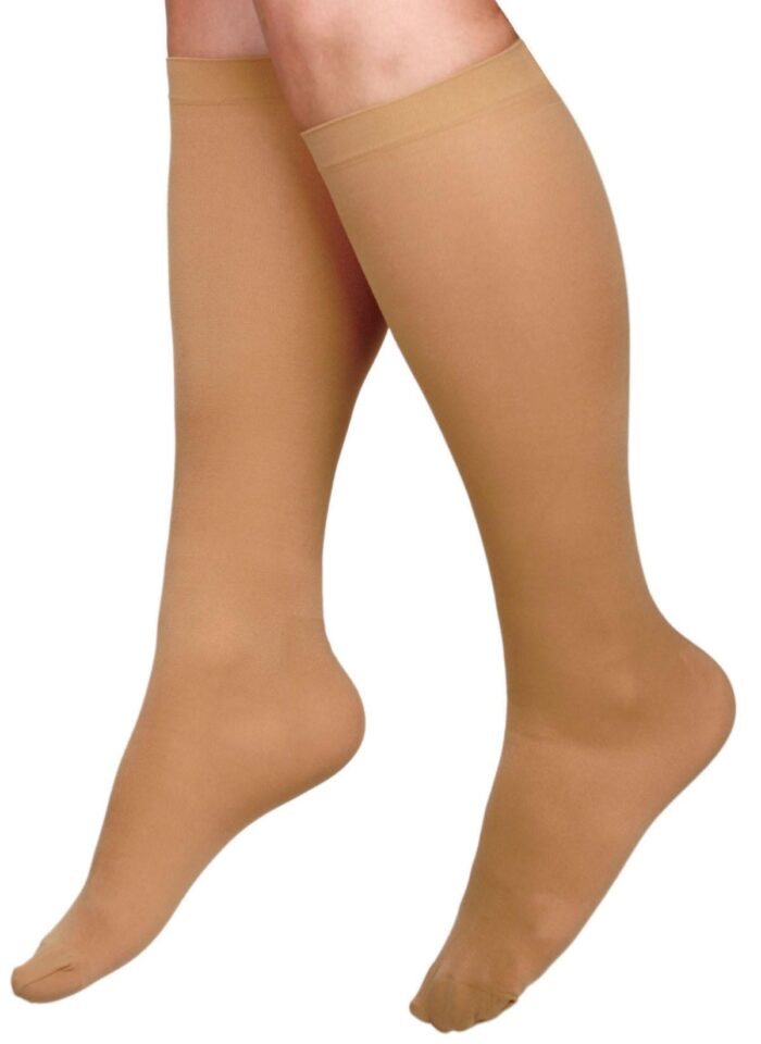 hosiery with moderate compression support socks for legs