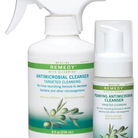 Powerful germ fighter spray for the skin