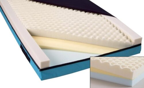 hospital bed deluxe mattress