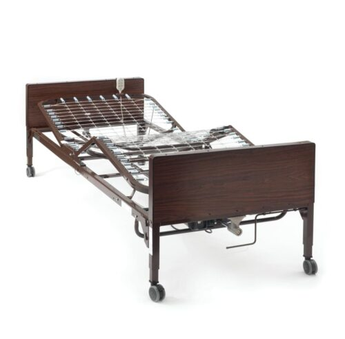 Low electric home care bed