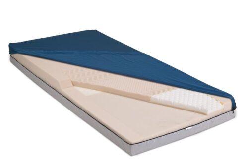 mattress with fire barrier