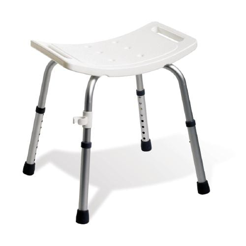 adjustable portable shower stool