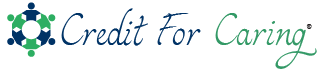 Credit For Caring – For Caregivers, By Caregivers Logo